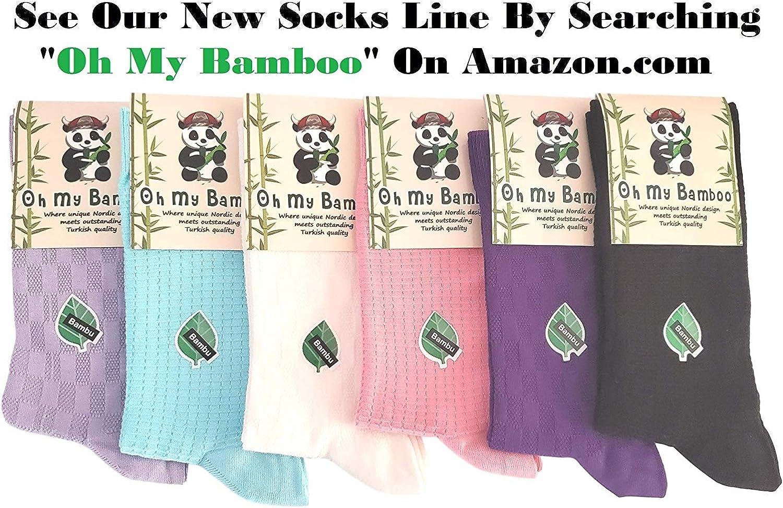 Luxury Bamboo Socks Seamless Womens Natural Dress Socks Luxurious Turkish