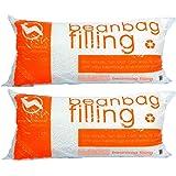 Big Joe Comfort Research UltimaX Bean Bags Refill Pack of 2, 100 L