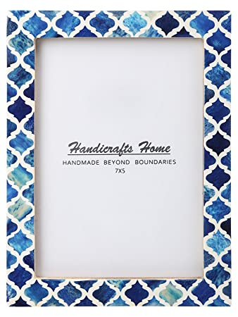 Amazon Com Handicrafts Home 5x7 Picture Photo Frame Moorish Damask
