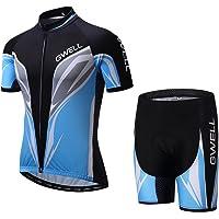 GWELL Conjunto de Ciclismo para Hombre, Maillot