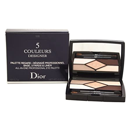 Christian Dior 5 Couleurs Designer All-in-one Professional Eye Palette, 508 Nude Pink, 0.2 Ounce
