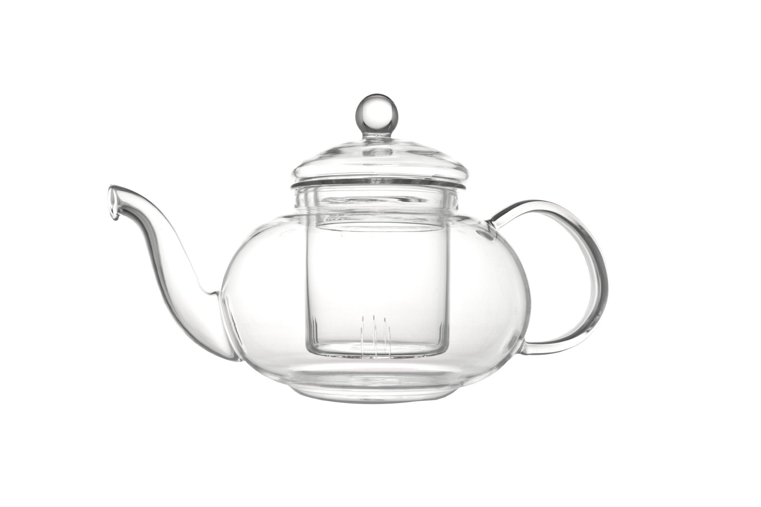 Bredemeijer Verona Single-Walled Glass teapot 0.5L, 12 x 18 x 12.2 cm, Transparent