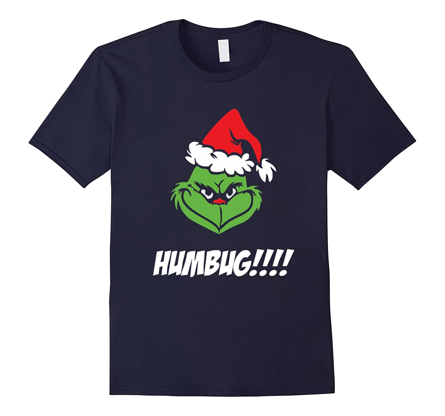 Funny Grinches-humbuges-santa T Shirts-Art