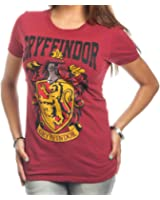 Harry Potter Gryffindor Crest Bold Girl Juniors T-Shirt