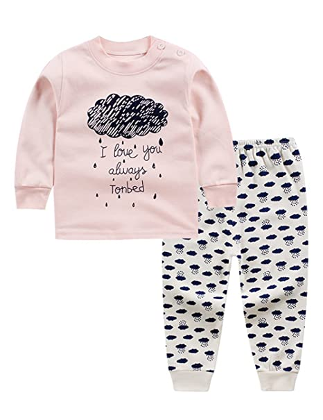 Image Unavailable. Image not available for. Color  MeterMall Unique Style  2PCS Casual Baby Underwear Set Long-Sleeve ... 5aaab9571