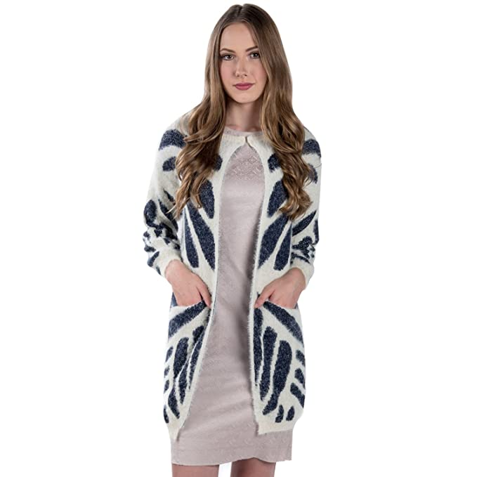 Women S Boden Open Front One Button Knit Cardigan Travel Wrap Poncho