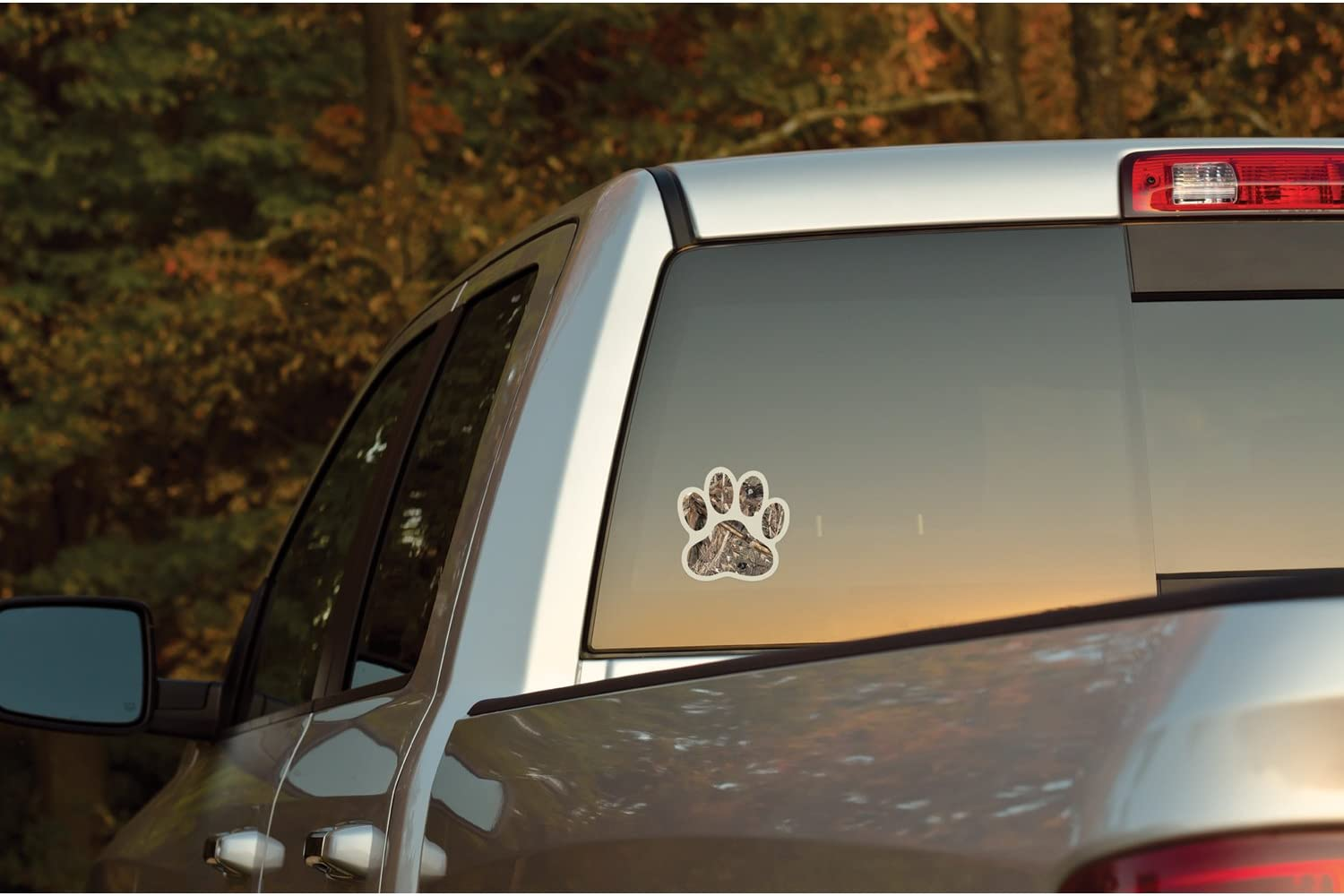 Hi-def Mossy Oak Graphics Animal Decal Matte Finish Cast Vinyl Mallard Patterns Paws No-fade Easy to Install Tracks