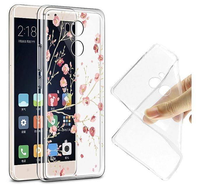 Xiaomi Redmi 4 Pro Carcasa , YIGA Moda Flores De Color Rosa ...