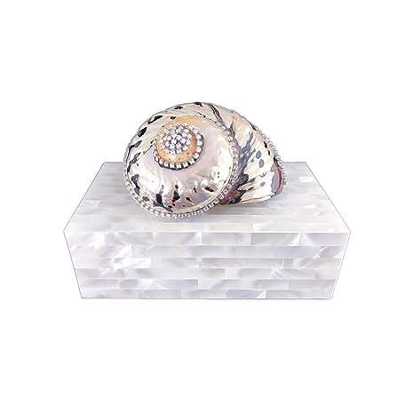 Amazon.com: Isabella Adams - Joyero con cristales de ...