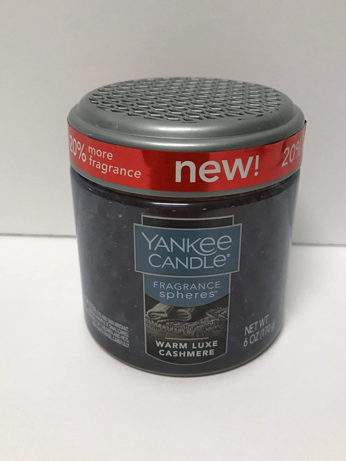 Yankee Candle Warm Luxe Cashmere Fragrance Sphere Odor Neutralizing Beads