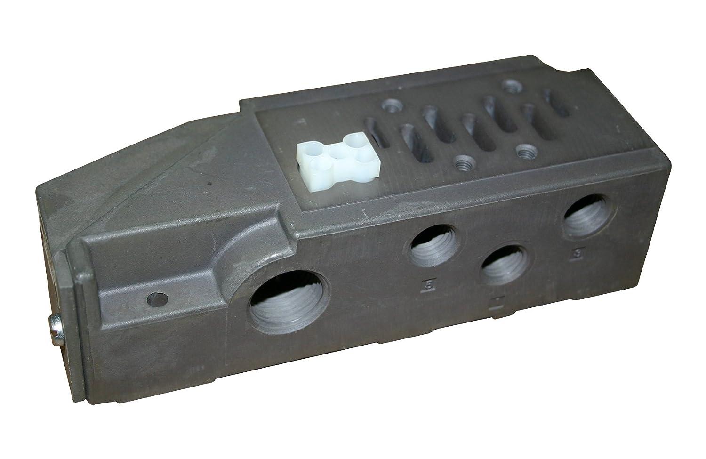 1//4 NPT One Size Side /& Bottom Ported Ross Controls 971N91 ISO 5599//II Single Sub Base Valve