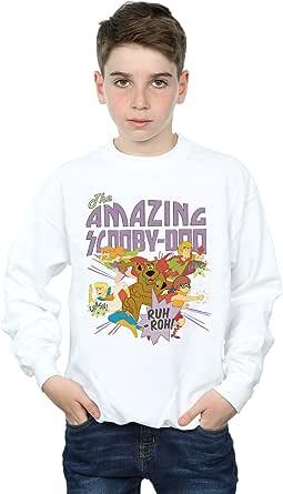 Absolute Cult Scooby Doo Niños The Amazing Scooby Camisa De Entrenamiento