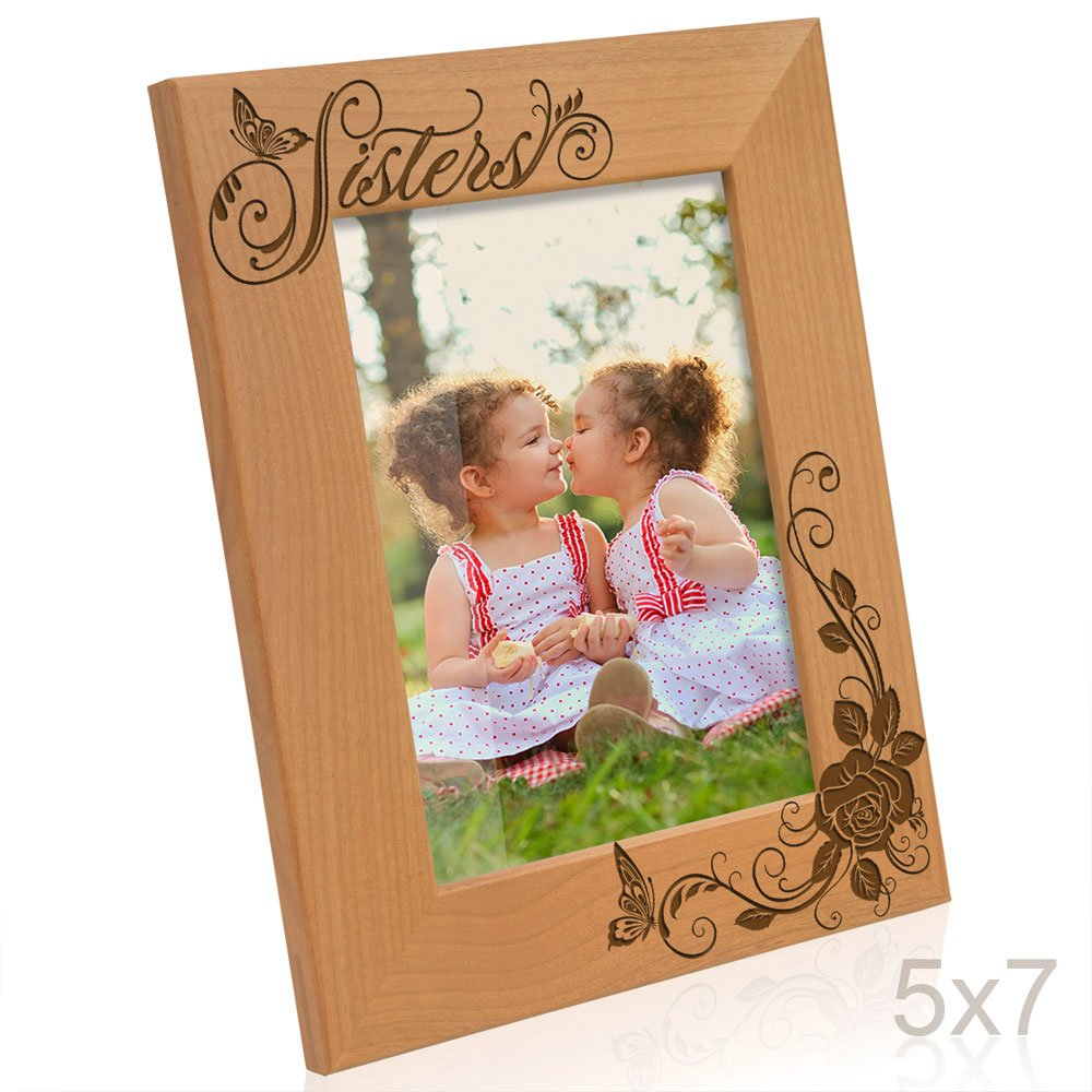 Amazon kate posh sisters picture frame 5x7 vertical jeuxipadfo Choice Image