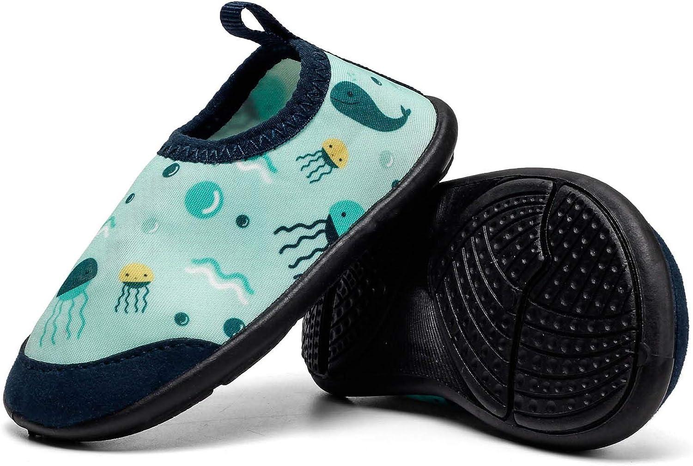 Ysuta Zapatillas acu/áticas Beb/é Zapatos Agua Calcetines Recien Nacido Primeros Pasos Antideslizante 0-24meses