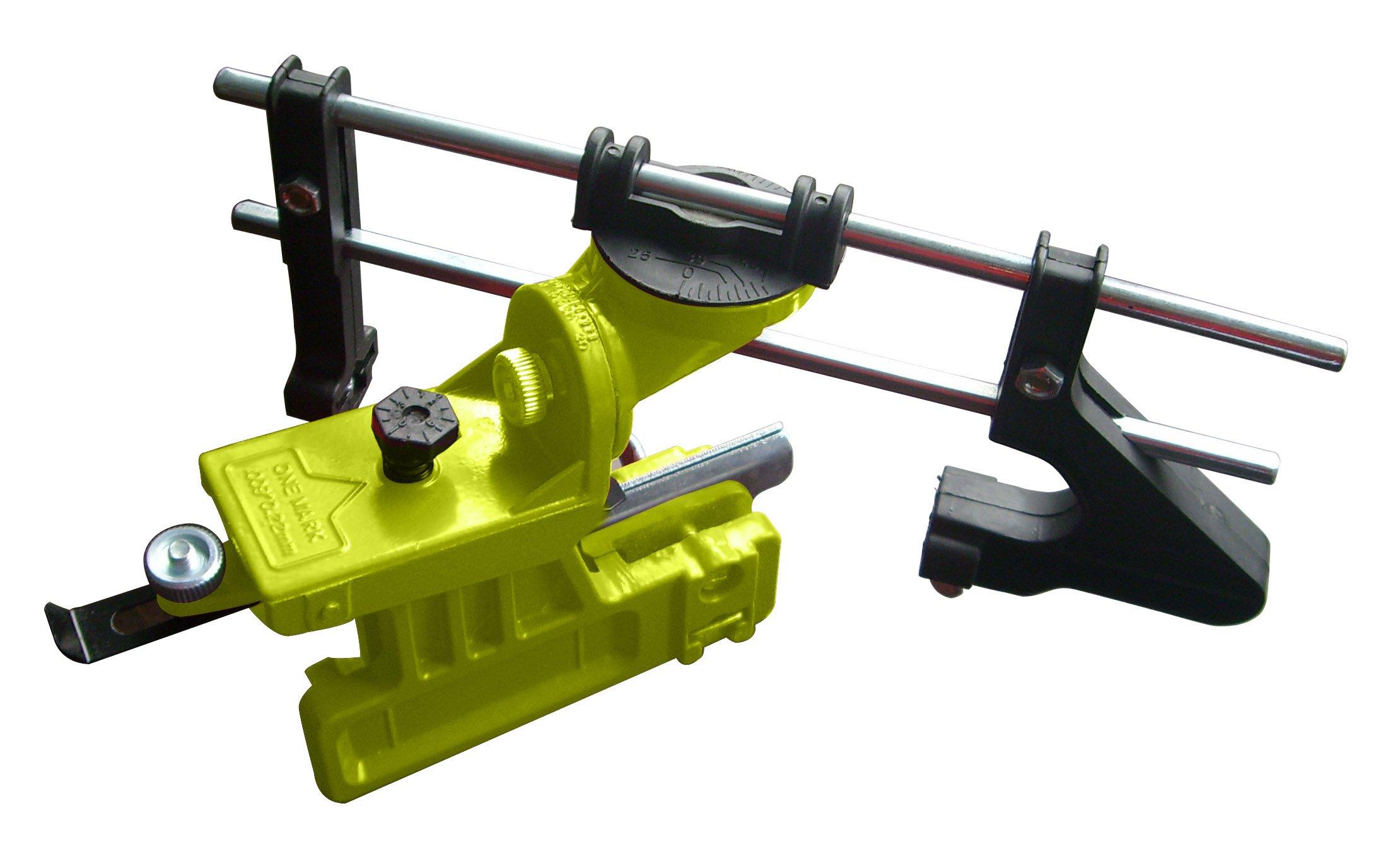 Timber Tuff CS-MBS Manual Bar Mount Chain Sharpener, Green
