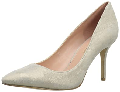 a9b62d4c8d Image Unavailable. Image not available for. Color: Enzo Angiolini Women's  Callme Dress Pump,Ivory Leather,9.5 ...