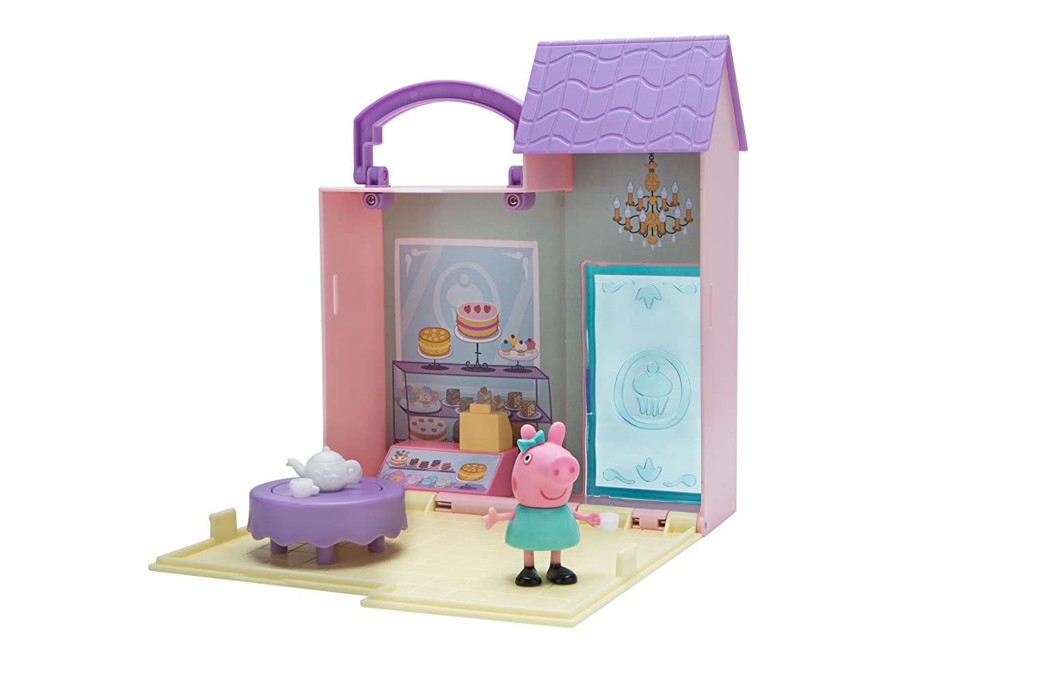 Peppa Pig Castle Fort Little Places Playset Jazwares - Import 96585