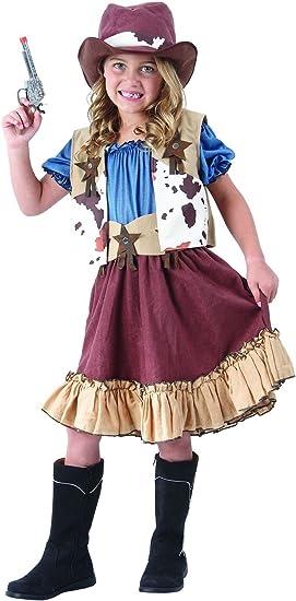 Cowgirl Disfraz infantil – Completo atractivo Cowboy Western ...