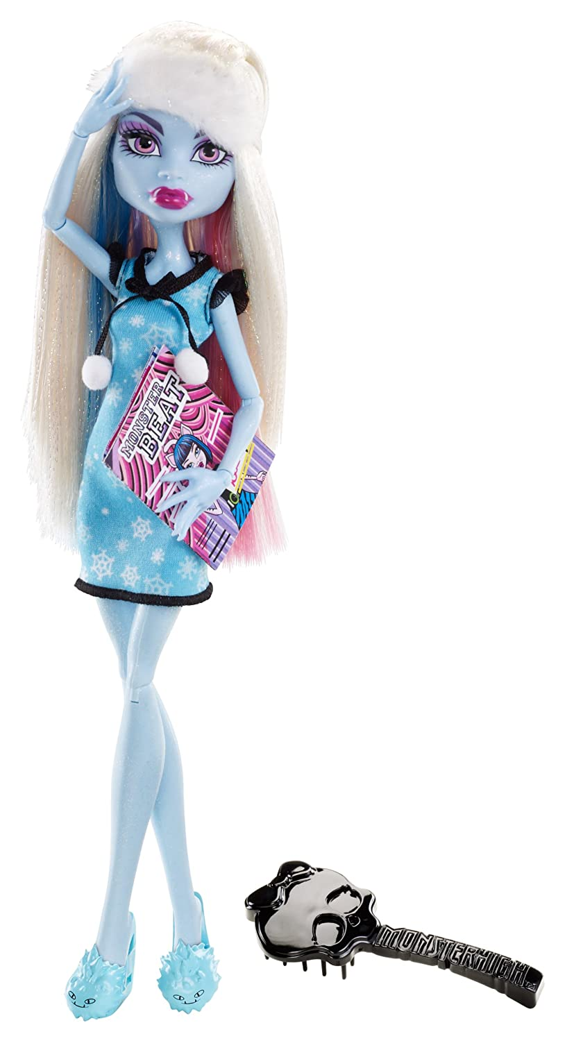 Uncategorized Abbey Monster High amazon com monster high dead tired abbey bominable doll toys games
