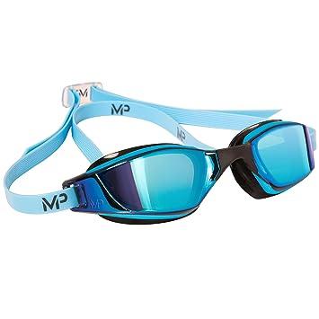 95b85fbc83 Aqua Sphere Xceed Swim Goggle -Titanium mirror lens -Blue Black Frame   Amazon.co.uk  Sports   Outdoors