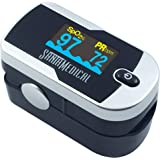 Santamedical Generation 2 Fingertip Pulse Oximeter Oximetry Blood Oxygen Saturation Monitor with Batteries and Lanyard…