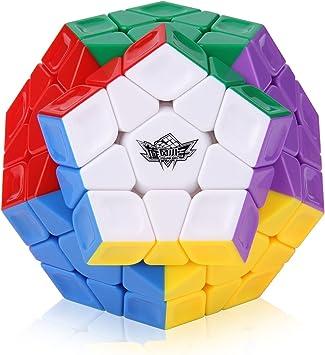 ROXENDA Cubo Mágico, Cubo de Velocidad Megaminx Stickerless Magico Speed Cube Rompecabezas, Súper Duradero Y Fácil Giro: Amazon.es: Juguetes y juegos