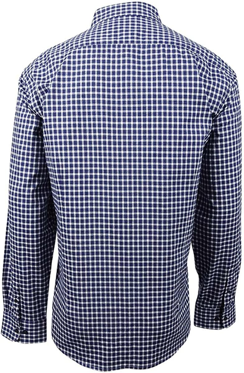 Kenneth Cole REACTION Mens Long Sleeve Check Shirt