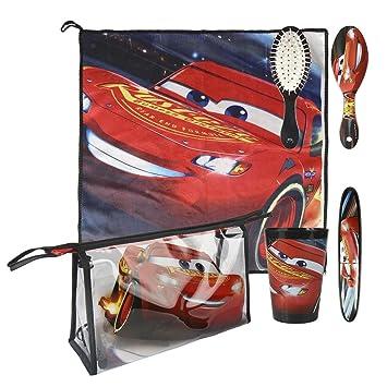 Cars 3 3 Set Neceser higiene Comedor Escuela Artesanía Cerdá 2500000802: Amazon.es: Juguetes y juegos