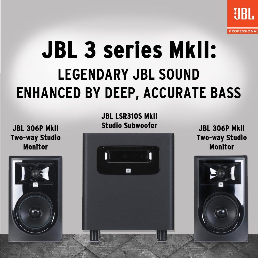 JBL 306P MkII 6'' 2-Way Powered Studio Monitor (new model) by JBL Professional (Image #7)
