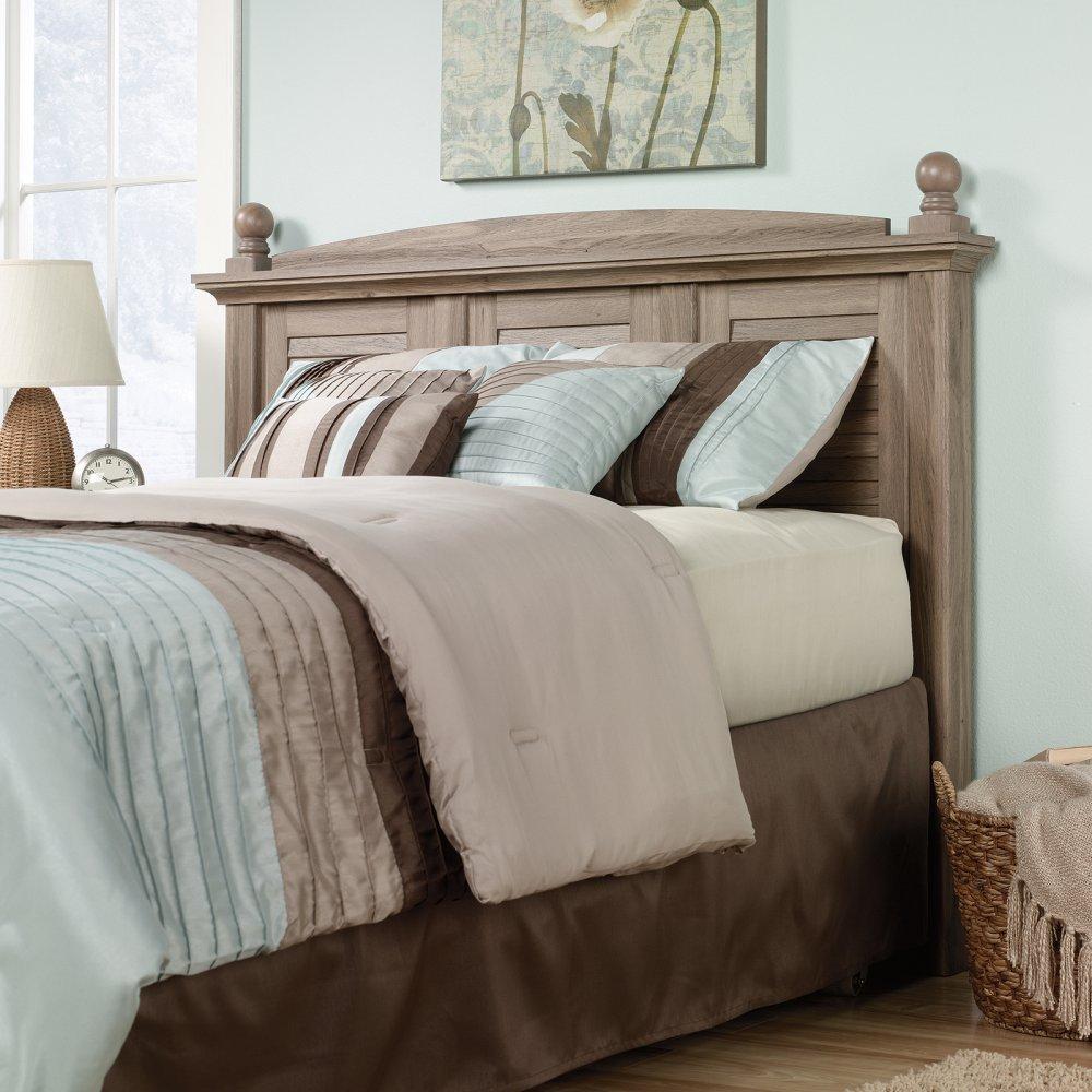 Sauder Bedroom Furniture Amazoncom Sauder Harbor View Headboard Full Queen Oak