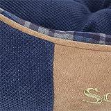 Scruffs Dog Highland Box Bed, Large, Blue
