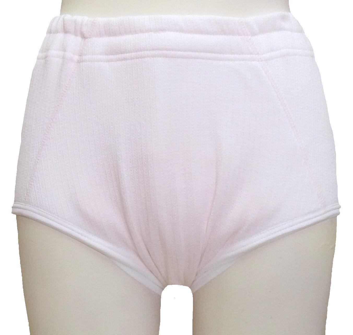 【3枚組】【32030】女性用失禁ショーツ ヨコ漏れガード付き 300cc Mサイズ 3枚のご購入 B0069K66GC M  M