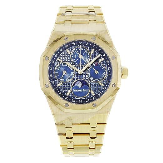 Audemars Piguet Royal Roble 41 mm calendario perpetuo reloj 26574or. OO. 1220OR. 02: Audemars Piguet: Amazon.es: Relojes