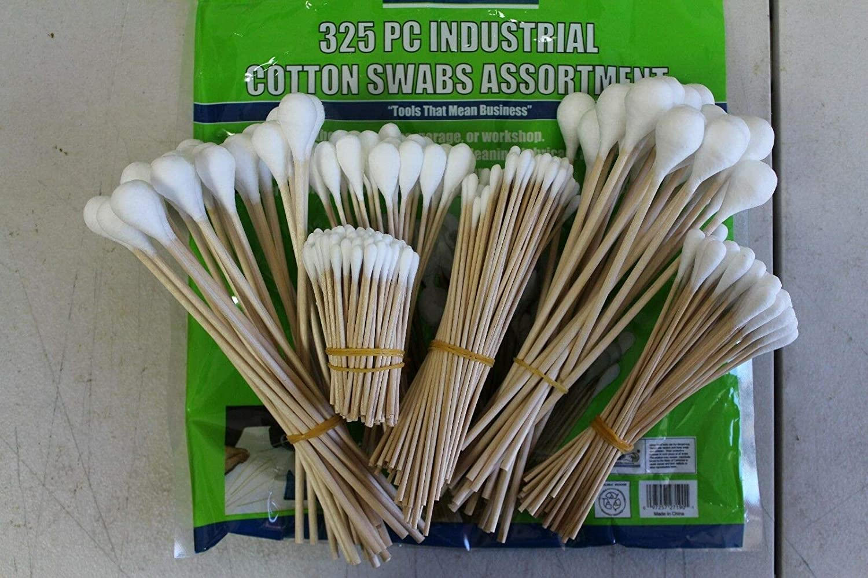 Industrial Cotton Swabs 325 Piece #15003