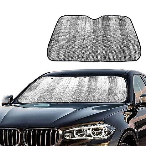 Amazon.com   Awsgtdrtg Car Windshield Sun Shade - Blocks UV Rays Sun Visor  Protector   Sports   Outdoors d138f2308fa