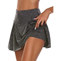 UMINA Active Skort Women Athletic Tennis Skorts for Running Golf Workout