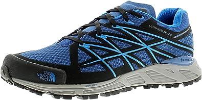 North Face Ultra Resistencia Zapatillas Running Hombre Gimnasio Zapatos Azul/Negro - Azul/Negro - UK Tamaño 8: Amazon.es: Zapatos y complementos
