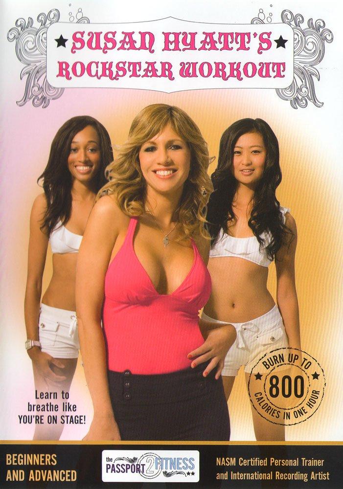 DVD : Susan Hyatt's Rockstar Workout (DVD)