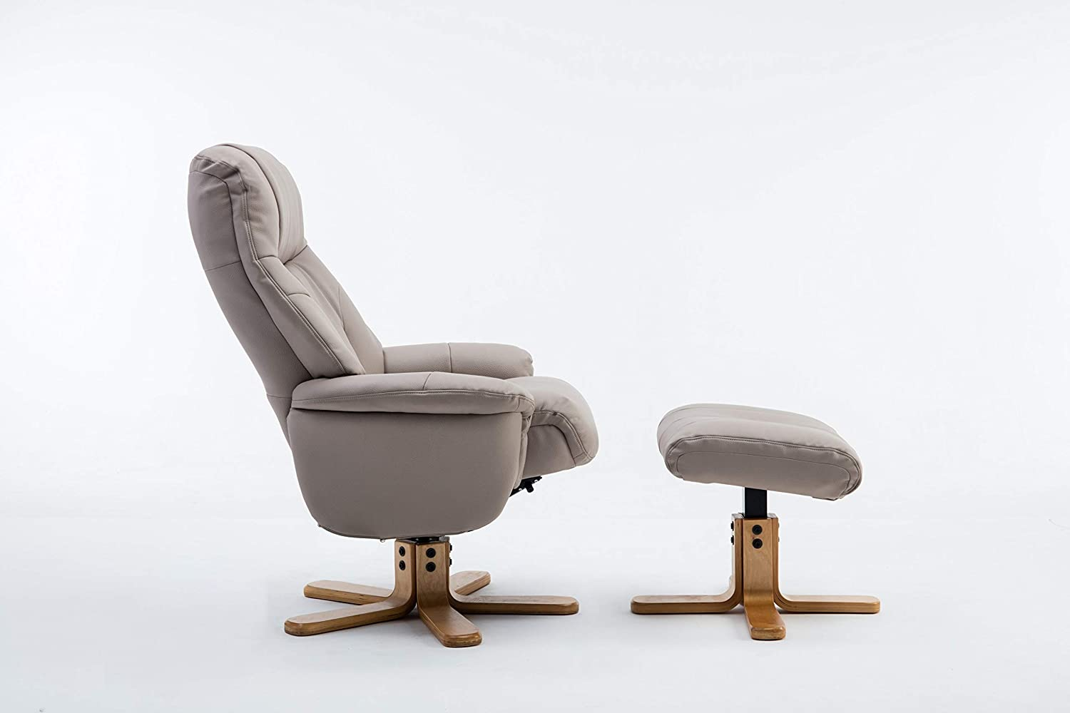 Amazing Gfa Dubai Faux Leather Pebble Plush Swivel Recliner Chair Onthecornerstone Fun Painted Chair Ideas Images Onthecornerstoneorg