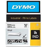 Dymo ID1-9 - Cinta de Vinilo, color blanco
