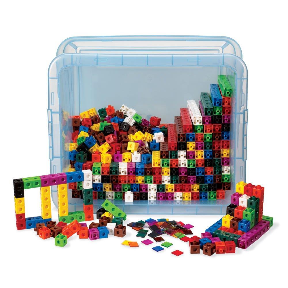 ETA hand2mind Snap Cubes Classroom Kit (Set of 2,000) by ETA hand2mind