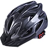 Best 007 Adult Cycling Bike Helmet for Men and Women Safety Protection CPSC Certified, Lightweight Bike Helmet with Removable Visor and Liner Adjustable Thrasher
