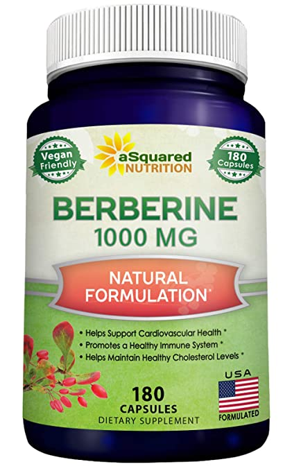 aSquared Nutrition Pure Berberine Supplement