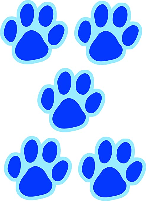 Lovely Blues Clues Paw Print Song - flower wallpaper