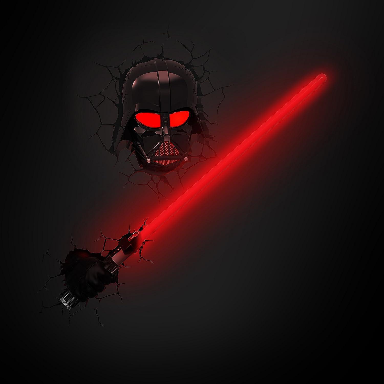 3D Light FX 50030 Star Wars Darth Vader Hand and Light Saber 3D ...