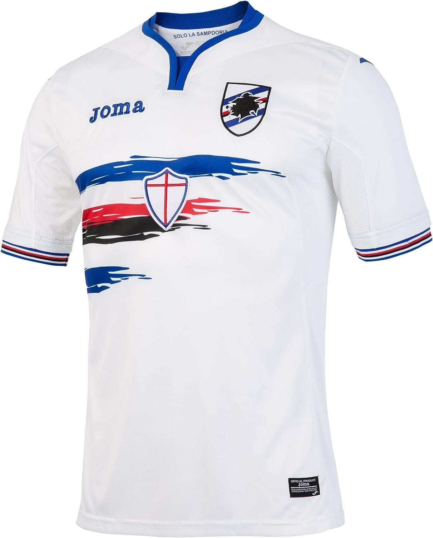 Joma SD.101021V16 Camiseta 2ª Equipación Sampdoria, Hombres ...