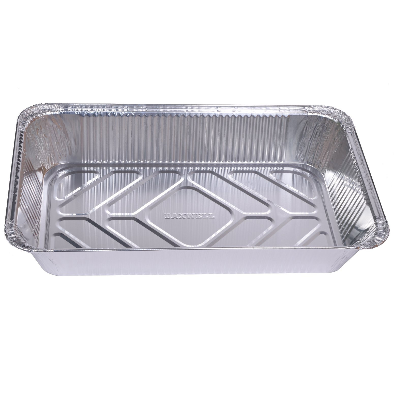Daxwell Disposable Aluminum Steam Table Pan, Deep, Full Size (Pack of 50)
