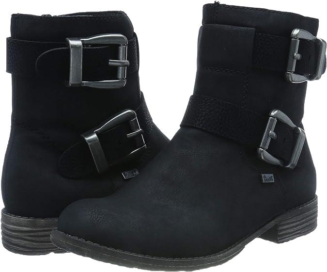 Rieker 94661, Bottes Hautes Femme: : Chaussures et Sacs