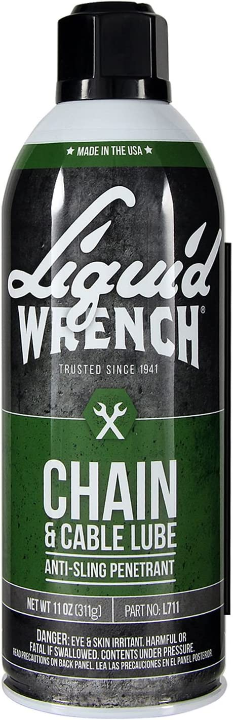 Liquid Wrench L711 Chain and Cable Lube