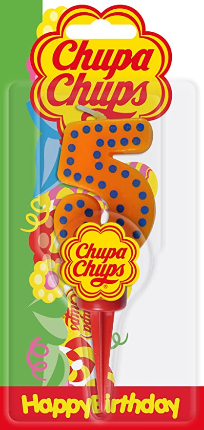 Cereria de Giorgio ch00001 _ 65 vela Cumpleaños Chupa Chups ...